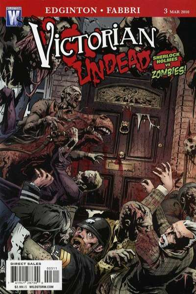 Victorian Undead #3 Comic Books - Covers, Scans, Photos  in Victorian Undead Comic Books - Covers, Scans, Gallery