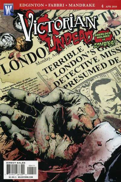 Victorian Undead #4 comic books for sale