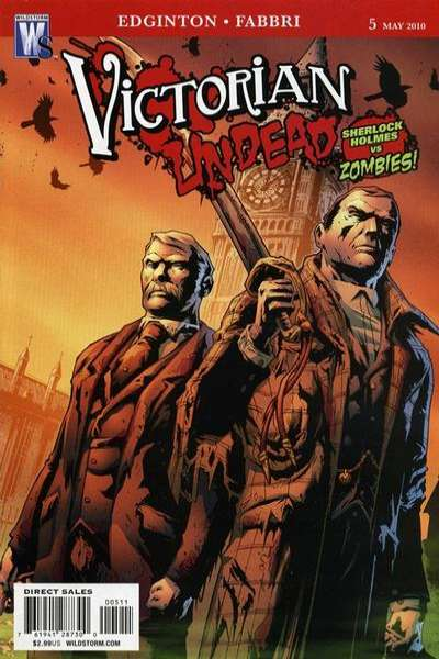 Victorian Undead #5 Comic Books - Covers, Scans, Photos  in Victorian Undead Comic Books - Covers, Scans, Gallery