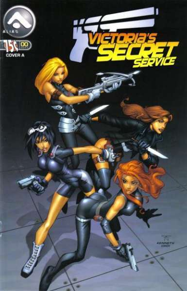 Victoria's Secret Service #0 comic books - cover scans photos Victoria's Secret Service #0 comic books - covers, picture gallery