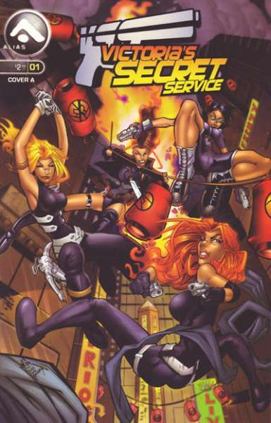 Victoria's Secret Service comic books