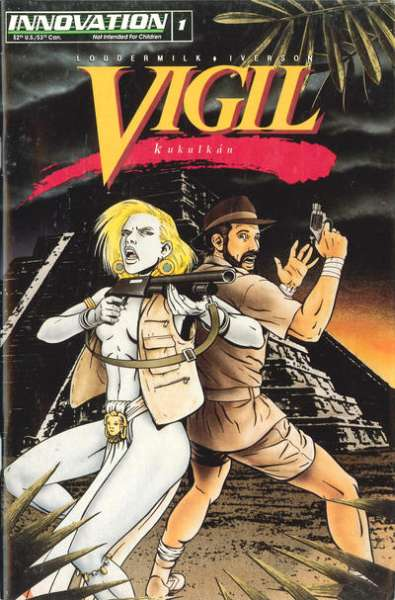 Vigil: Kulkalkan #1 comic books for sale