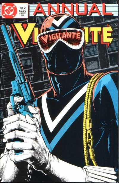 Vigilante #2 comic books - cover scans photos Vigilante #2 comic books - covers, picture gallery