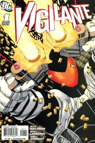Vigilante #1 Comic Books - Covers, Scans, Photos  in Vigilante Comic Books - Covers, Scans, Gallery