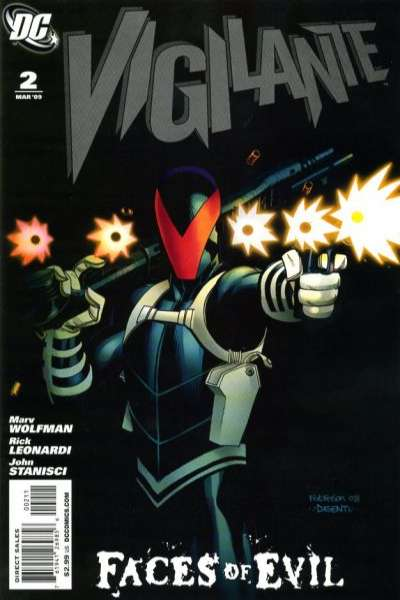Vigilante #2 Comic Books - Covers, Scans, Photos  in Vigilante Comic Books - Covers, Scans, Gallery