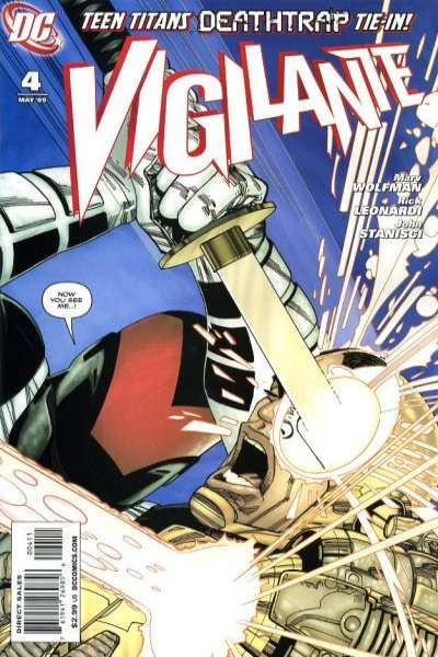 Vigilante #4 comic books for sale