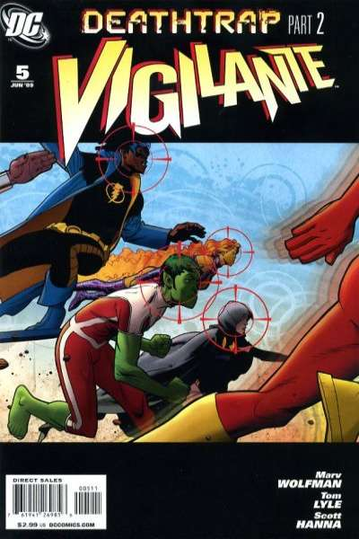 Vigilante #5 comic books - cover scans photos Vigilante #5 comic books - covers, picture gallery