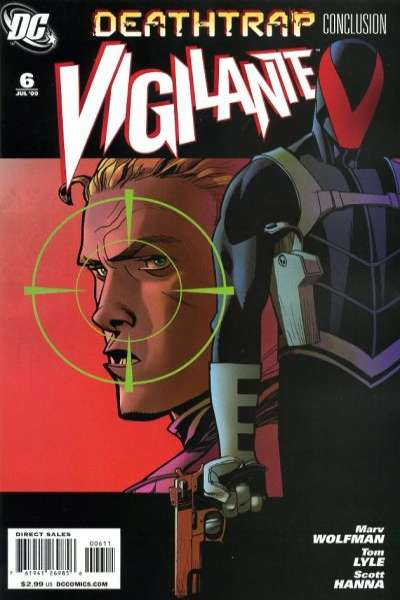 Vigilante #6 Comic Books - Covers, Scans, Photos  in Vigilante Comic Books - Covers, Scans, Gallery