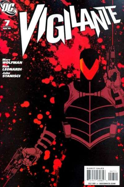 Vigilante #7 comic books for sale