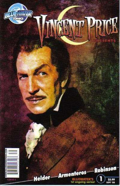 Vincent Price Presents comic books