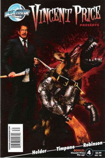 Vincent Price Presents #4 Comic Books - Covers, Scans, Photos  in Vincent Price Presents Comic Books - Covers, Scans, Gallery