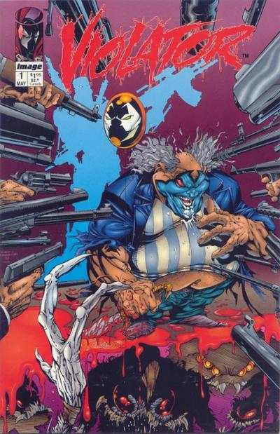 Violator #1 Comic Books - Covers, Scans, Photos  in Violator Comic Books - Covers, Scans, Gallery