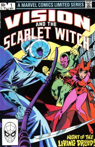 Vision and the Scarlet Witch #1 comic books - cover scans photos Vision and the Scarlet Witch #1 comic books - covers, picture gallery
