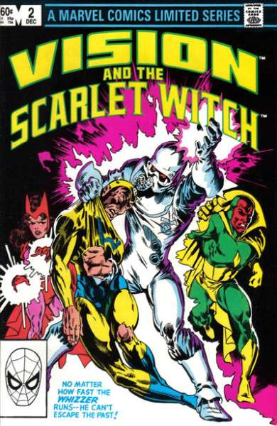 Vision and the Scarlet Witch #2 comic books - cover scans photos Vision and the Scarlet Witch #2 comic books - covers, picture gallery