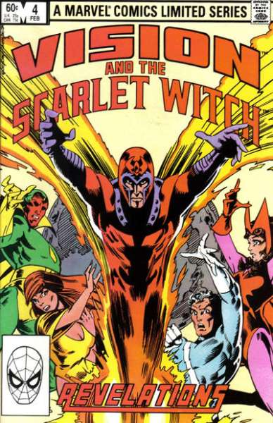Vision and the Scarlet Witch #4 comic books - cover scans photos Vision and the Scarlet Witch #4 comic books - covers, picture gallery