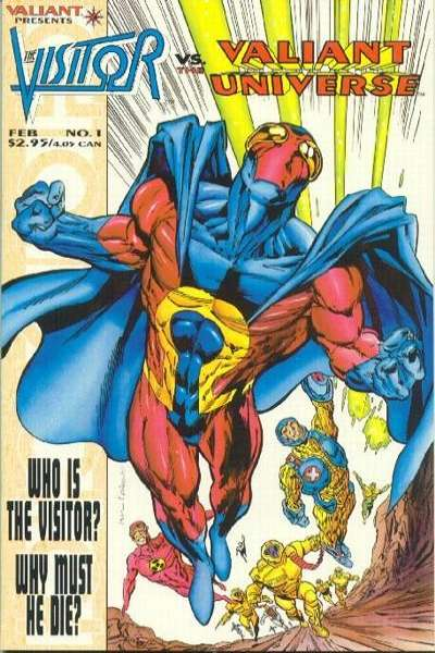 Visitor vs. the Valiant Universe #1 comic books for sale