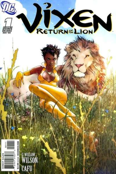 Vixen: Return of the Lion comic books