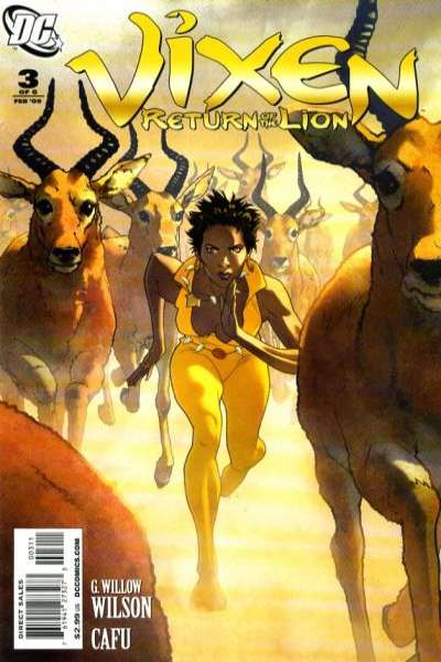 Vixen: Return of the Lion #3 comic books - cover scans photos Vixen: Return of the Lion #3 comic books - covers, picture gallery