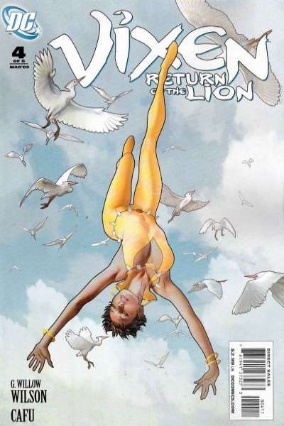 Vixen: Return of the Lion #4 comic books - cover scans photos Vixen: Return of the Lion #4 comic books - covers, picture gallery