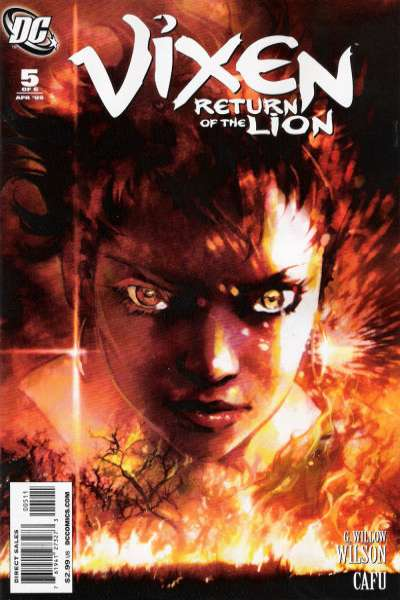 Vixen: Return of the Lion #5 comic books - cover scans photos Vixen: Return of the Lion #5 comic books - covers, picture gallery