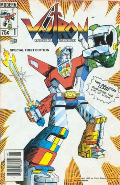 Voltron  comic books