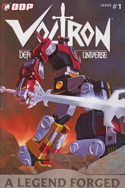 Voltron: A Legend Forged comic books