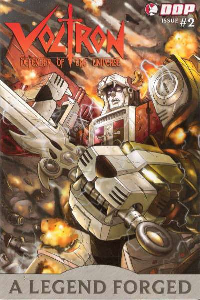 Voltron: A Legend Forged #2 comic books - cover scans photos Voltron: A Legend Forged #2 comic books - covers, picture gallery