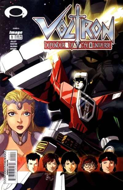 Voltron: Defender of the Universe #1 comic books - cover scans photos Voltron: Defender of the Universe #1 comic books - covers, picture gallery