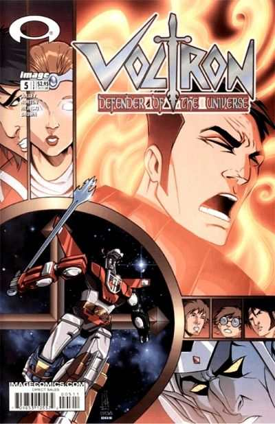 Voltron: Defender of the Universe #5 Comic Books - Covers, Scans, Photos  in Voltron: Defender of the Universe Comic Books - Covers, Scans, Gallery