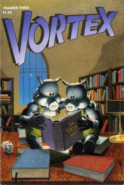 Vortex #3 comic books for sale