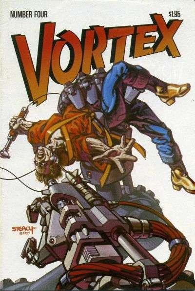 Vortex #4 comic books for sale