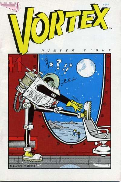 Vortex #8 comic books for sale