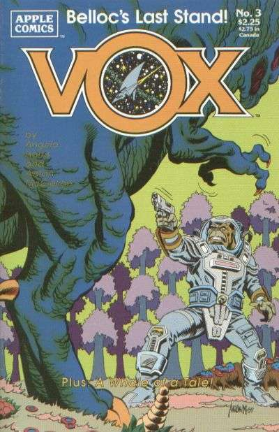 Vox #3 comic books for sale