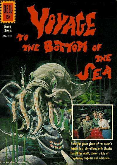Voyage to the Bottom of the Sea #1 Comic Books - Covers, Scans, Photos  in Voyage to the Bottom of the Sea Comic Books - Covers, Scans, Gallery