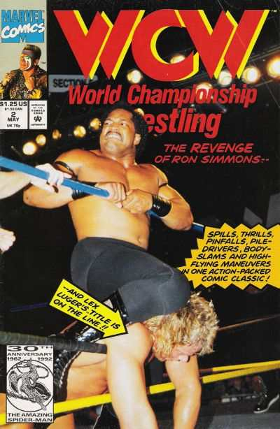 WCW World Championship Wrestling #2 comic books for sale