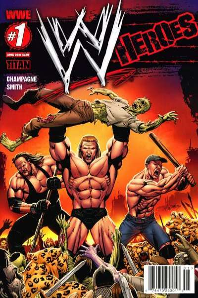 WWE Heroes comic books