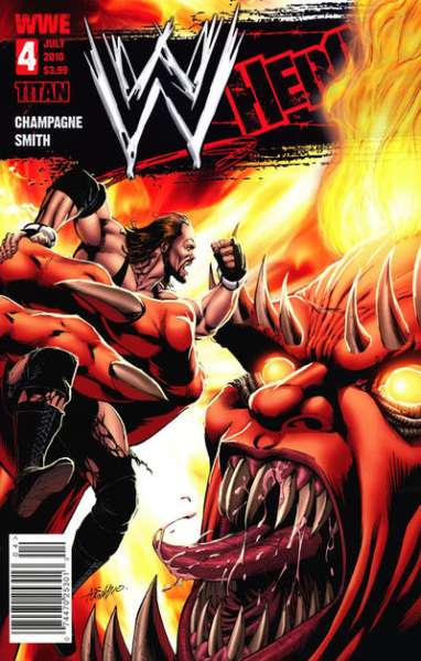WWE Heroes #4 Comic Books - Covers, Scans, Photos  in WWE Heroes Comic Books - Covers, Scans, Gallery