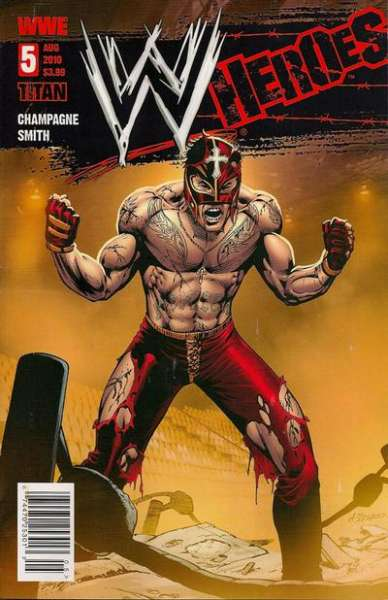 WWE Heroes #5 comic books for sale