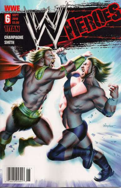 WWE Heroes #6 Comic Books - Covers, Scans, Photos  in WWE Heroes Comic Books - Covers, Scans, Gallery