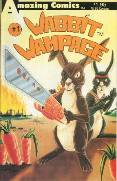 Wabbit Wampage #1 comic books for sale