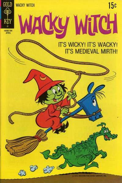Wacky Witch #2 Comic Books - Covers, Scans, Photos  in Wacky Witch Comic Books - Covers, Scans, Gallery