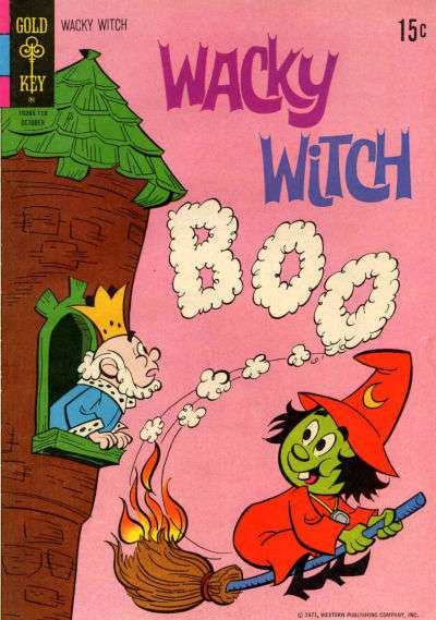 Wacky Witch #4 comic books - cover scans photos Wacky Witch #4 comic books - covers, picture gallery