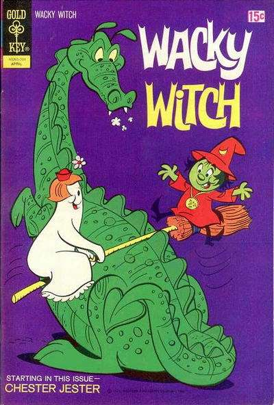 Wacky Witch #6 Comic Books - Covers, Scans, Photos  in Wacky Witch Comic Books - Covers, Scans, Gallery