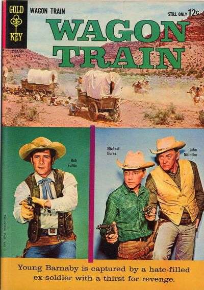 Wagon Train #2 comic books - cover scans photos Wagon Train #2 comic books - covers, picture gallery