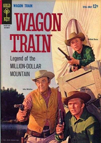 Wagon Train #4 Comic Books - Covers, Scans, Photos  in Wagon Train Comic Books - Covers, Scans, Gallery