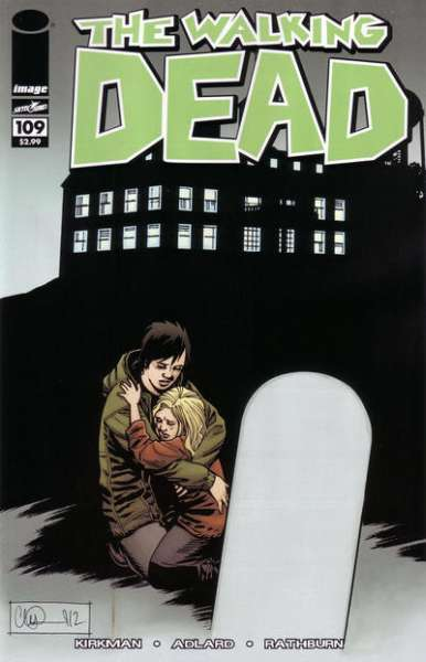 Walking Dead #109 Comic Books - Covers, Scans, Photos  in Walking Dead Comic Books - Covers, Scans, Gallery