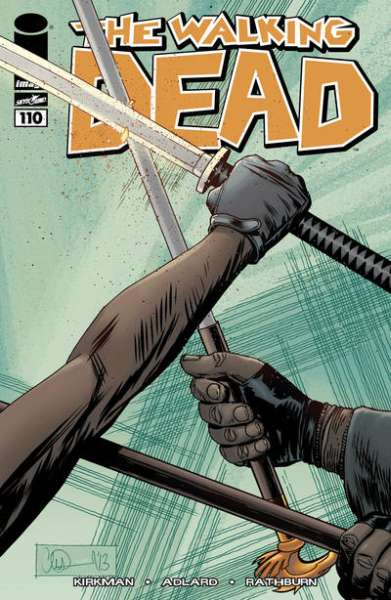 Walking Dead #110 comic books - cover scans photos Walking Dead #110 comic books - covers, picture gallery