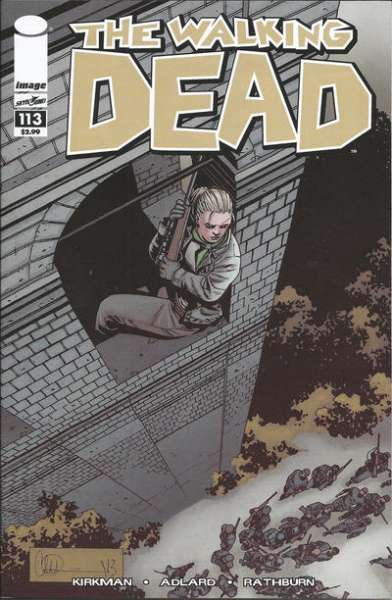 Walking Dead #113 comic books - cover scans photos Walking Dead #113 comic books - covers, picture gallery