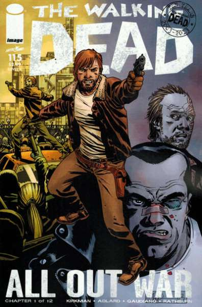 Walking Dead #115 comic books - cover scans photos Walking Dead #115 comic books - covers, picture gallery