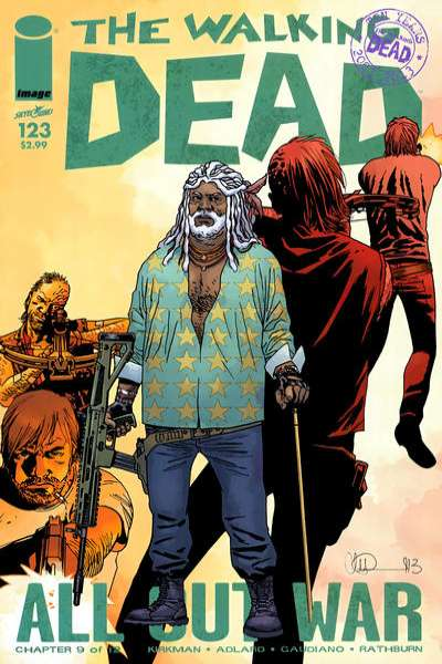 Walking Dead #123 comic books - cover scans photos Walking Dead #123 comic books - covers, picture gallery